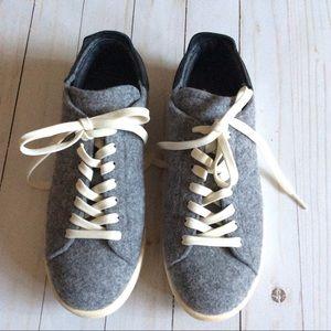 Adidas Originals Stan Smith PC Wool, Gray Size 6
